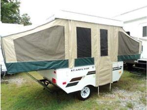 Tente-roulotte Starcraft Starflyer 8, 2012