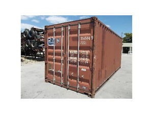 Winter Storage Clean Dry Shipping Containers 299. for the season