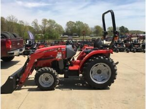 Massey Ferguson 24hp HD Compact Tractor - BLOWOUT SPECIAL!