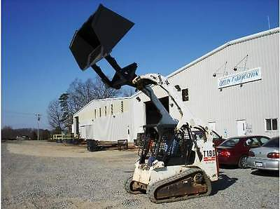 New 72 6 Skid Steer High Lift Roll Out Front Dump Bucket Bobcat Cat John Deere