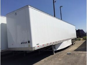 Trailer Hyundai 53' 2016. remorque. dry box sale or lease