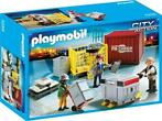 Playmobil - City Action - 5259 - Cargoteam met lading