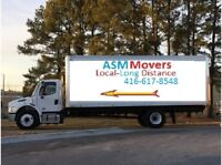 ASM  MOVERS ---- Dependable Movers  416-617-8548