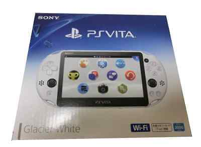 SONY PlayStation Vita Wi-Fi Console PCH-2000 ZA22 Glacier White PS Vita New