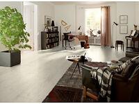 Cortina Oak white 8mm Laminate Flooring