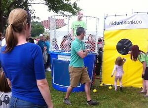 Dunk tanks and kids game rentals