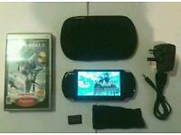Sony PSP 3000 slim A1 cond & Final Fantasy!