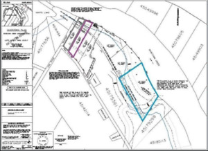 (3) Waterfront Lots - Village of Gagetown NB