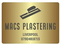 MACS PLASTERING. OVER 10 YEARS EXPERIENCE