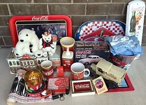 Coca Cola Collectible Items - over 27 items