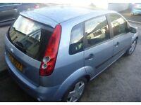 2006 Fiesta, 5 door 1.4 petrol Automatic, MOT till 22nd Aug