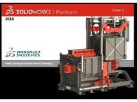 SolidWorks Premium 2016 Full Version For Windows Only