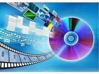 D B FILM & AUDIO CONVERSIONS - INC VHS TO DVD