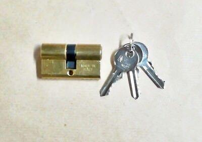 MG cilindro sagomato in ottone mm. 54 con 3 chiavi