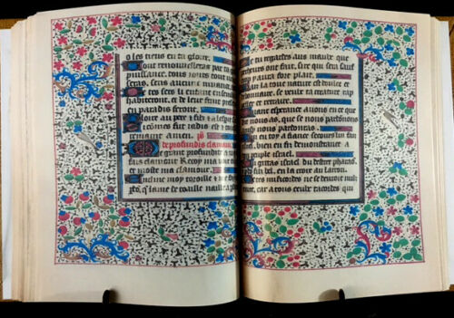 Book Of Hours, Use Of Troyes And Sens, 1470