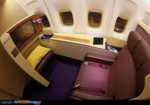 First class ticket Sydney to South East Asia via Bangkok Sydney City Inner Sydney Preview
