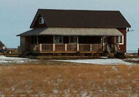 Acreage 40 minutes out of Calgary by Carstairs