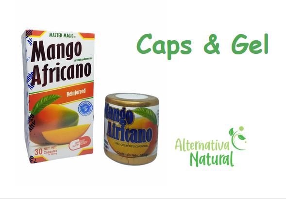 MANGO AFRICANO (MASTER MAGIC) - Paquete de Capsulas y Gel!!! Caps & Gel Pack!!!