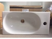 Small rectangular wash hand basin from Bathstore for bathroom or cloakroom (new & boxed)
