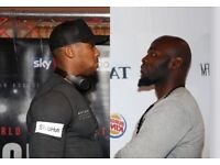 2 X Anthony Joshua vs Carlos Takam tickets