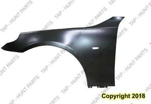 Fender Front Driver Side Steel CAPA BMW 5-Series (E60) 2004-2010