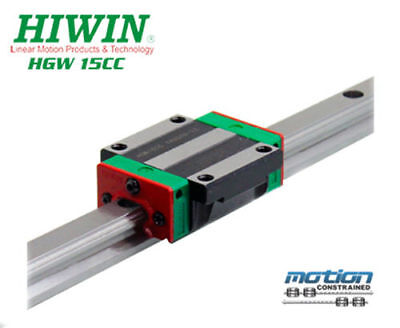 New Hiwin Hgw15cczac Flange Block Linear Guides Hgw15 Series Up To 4000mm Long