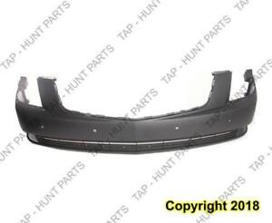 Bumper Front With Sensor Hole Primed Cadillac DTS 2006-2011