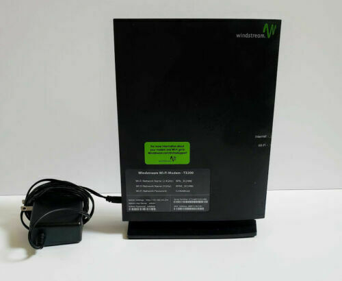 Windstream Wi-Fi modem T3200 Bonded VDSL2 Wireless AC Gateway Router