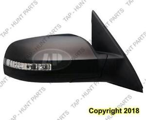 Door Mirror Power Passenger Side Signal Sedan 2.5L Nissan ALTIMA 2007-2012