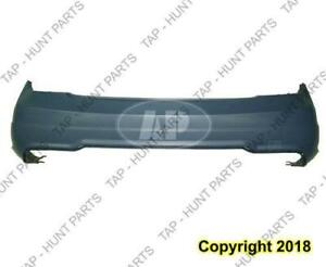 Bumper Rear Primed Without Sensor With Sport Package Coupe/Sedan Mercedes C-Class 2012-2014