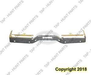 Bumper Rear Chrome With Sensor Hole Le/Se Steel Nissan Titan 2004-2006