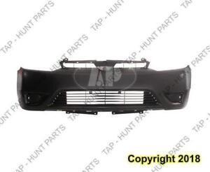 Bumper Front Primed Coupe CAPA Honda Civic 2006-2008