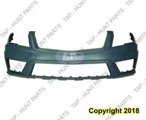 Bumper Front Primed Without Sensor Without Head Light Washer Hole With Amg Package Glk 350 Mercedes G-Class 2010-2012