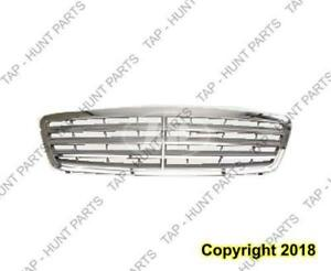 Grille Chrome/Silver With Sport Package (Avngrd/Elgns) Mercedes C-Class 2001-2007