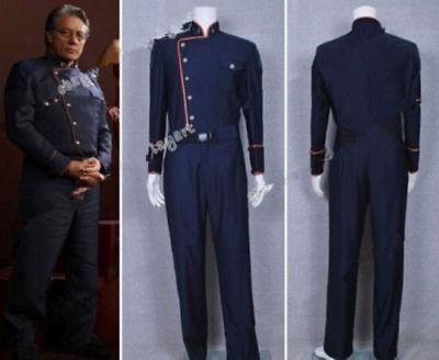Battlestar Galactica Costume (Battlestar Galactica TV Commander William Adama Uniform Costume)