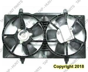 Cooling Fan Assembly 2.5 3.5L Nissan ALTIMA 2002-2006