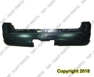Bumper Rear Primed Without Pre-Drilled Park Hole Capa Lincoln Navigator 2005-2006