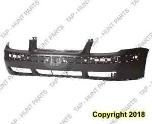 Bumper Front Primed With Moulding Hole Volkswagen Jetta City 2007