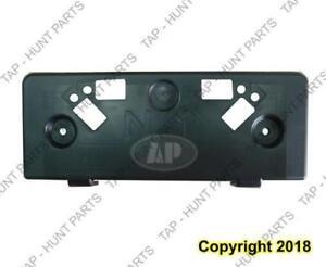License Plate Bracket Front(Matt-Black) Infiniti G37 2009