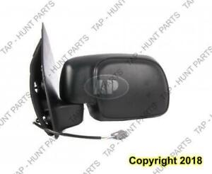 Door Mirror Power Driver Side Puddle Type Ford F250 F350 F450 F550 2001-2003