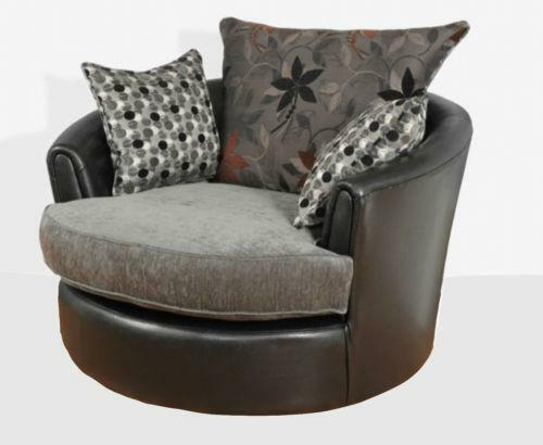 Swivel Snuggle Chair Sofas Armchairs Amp Suites Ebay