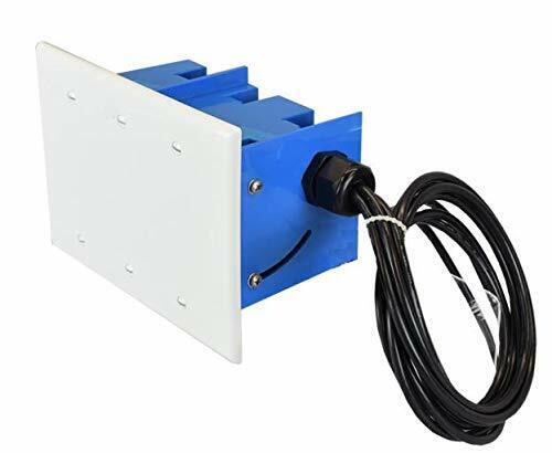 Ventev WiFi Junction Box Antenna w. 4RPTNC 2.4/5GHz 5/6 dBi, 585813 (w. 4RPTNC 2