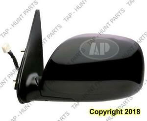 Door Mirror Power Driver Side Heated Sequoia Sr5 01-07/Tundra Limited Double Cab Toyota Tundra 2003-2004