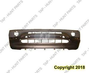 Bumper Front Primed Without Pds/Head Lamp Washer Hole BMW X5 2000-2003