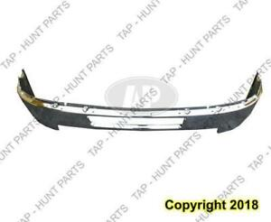 Bumper Front Without Fog Light Hole Chrome Steel 2500/3500 Chevrolet Silverado 2011-2014