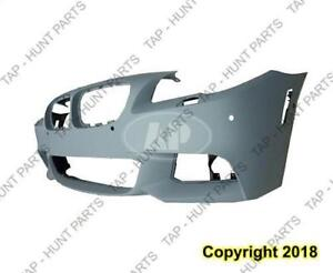 Bumper Front With Sensor Ho/S/Cam Hole With M Package Primed CAPA BMW 5-Series 2011-2013
