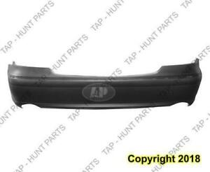 Bumper Rearprimed Without Sensor Without Amg Package With Sport With Dual Exht Sedan CAPA Mercedes E-Class 2007-2009