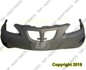 Bumper Front Primed Upper Base-Gt-Gtp Models PONTIAC GRAND PRIX 2004-2008