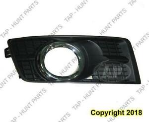 Fog Lamp Bezel Front Passenger Side With Chrome Moulding Cadillac SRX 2010-2015