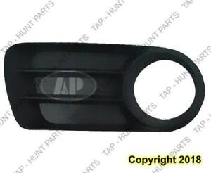 Grille Outer Passenger Side With Fog Lamp Hole Ford Explorer 2002-2005